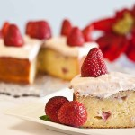 Low Fodmap Strawberry potato cake