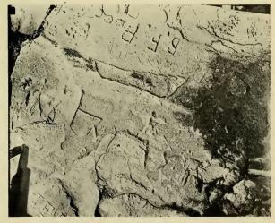 Lief's Rock Inscription 1928