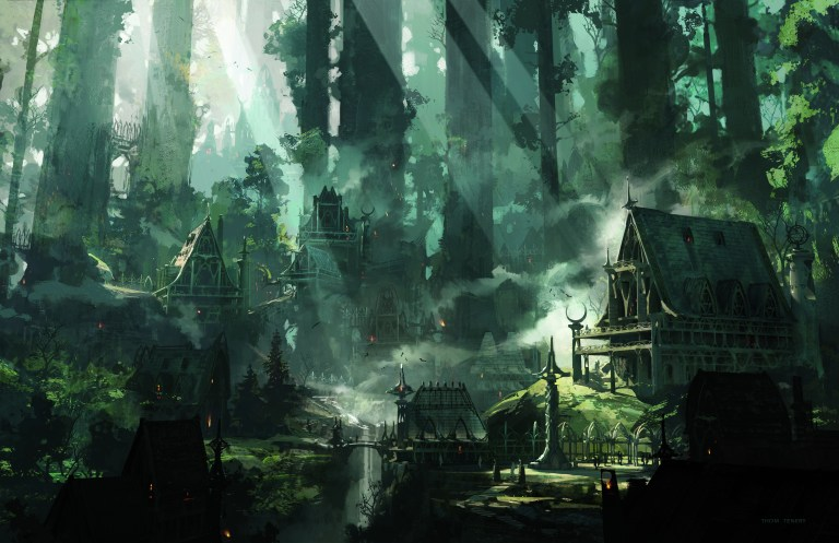 Elven City - Players Handbook