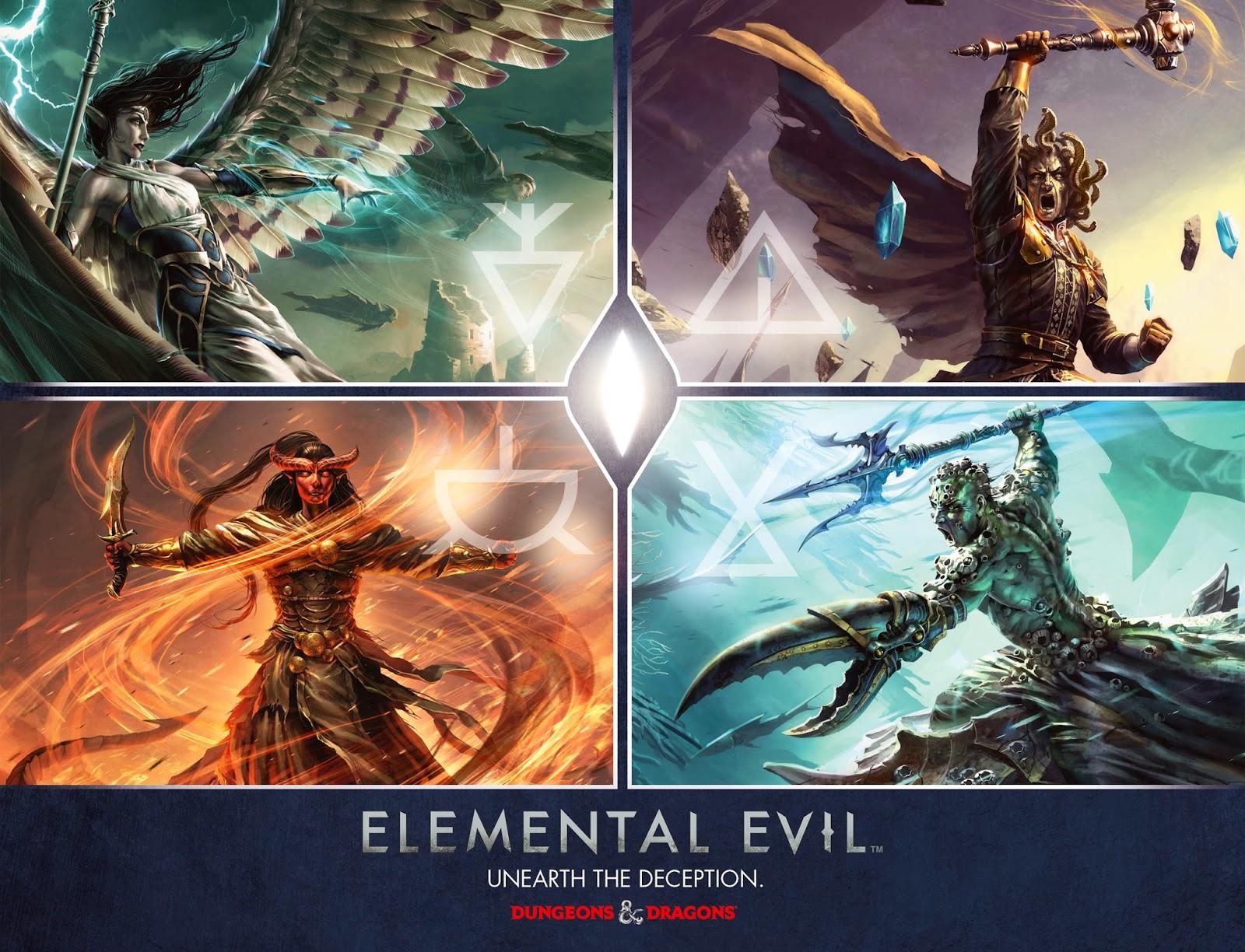Image result for Elemental Evil - Princes of the Apocalypse