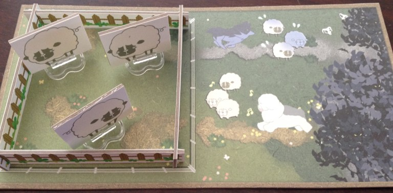 A pasture. Prototype components.