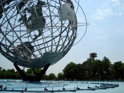 Unisphere + NYS Pavilion.