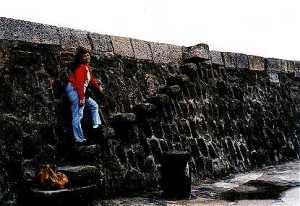 The Cobb at Lyme Regis: Granny's Teeth (Persuasion 1995)