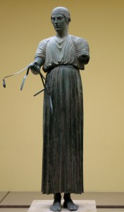 Charioteer of Delphi in Chiton