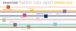 Spring 2012 Fashion Color Trends - Pantone Fashion Color Report Spring 2012