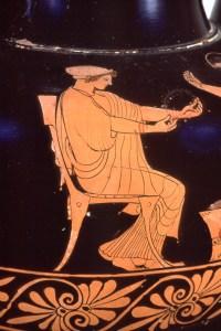 Redfigure Vase Chiton