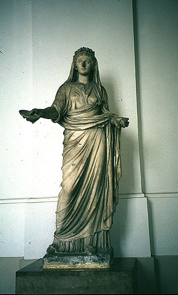 Priestess from Macellum in Pompeii