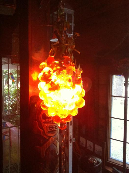 Grape lamp