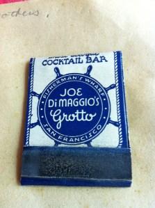 Grotto Matchbook