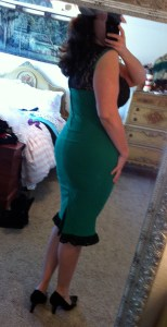 Green Micheline dress