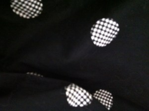 Kay Whitney dress fabric