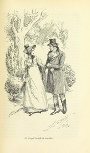 Hugh Thomson Illustration from Emma