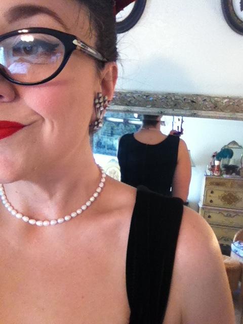 Steady Velvet Diva dress