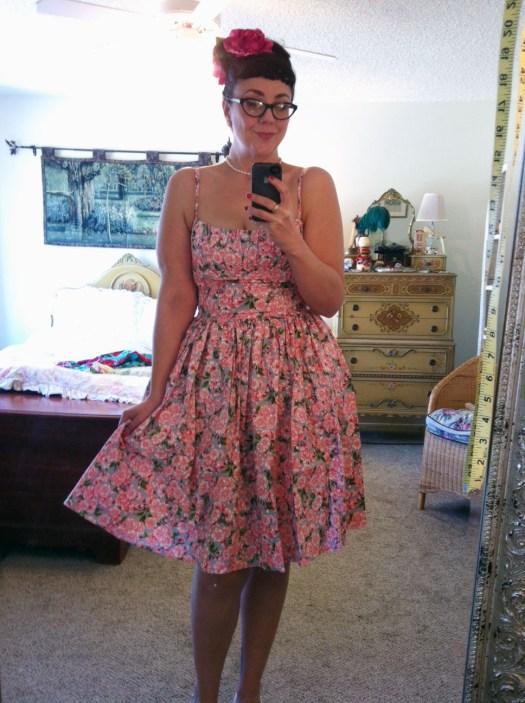 Bernie Dexter Paris dress - pink blossom