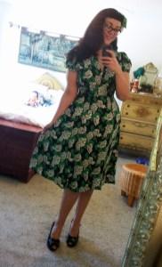Trashy Diva Ashley Dress in Crepe Myrtle