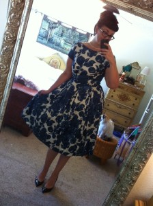 Margaret Koehler vintage dress