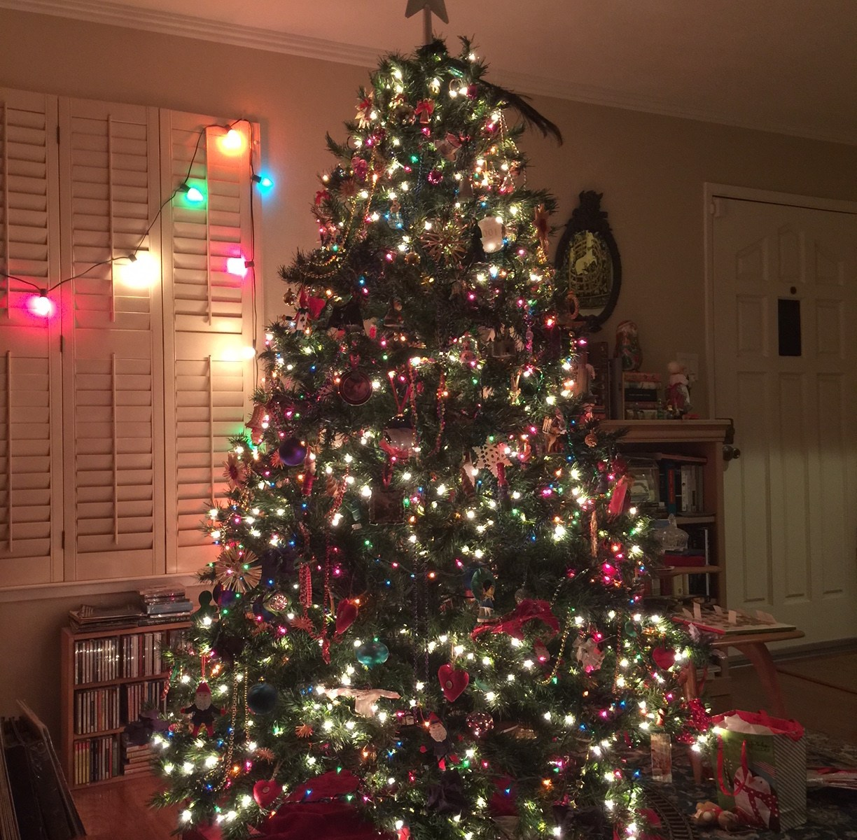 My big Christmas tree