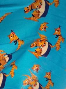 Mary Blair cat print closeup