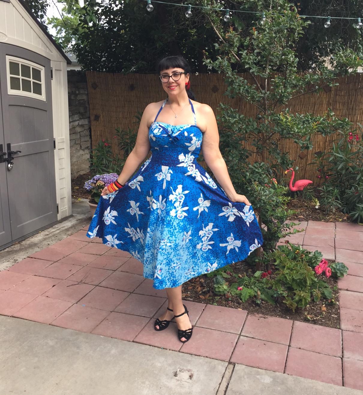0d7c01f8bd87 Hawaiian vintage dress for Spring! | StrangeBlog
