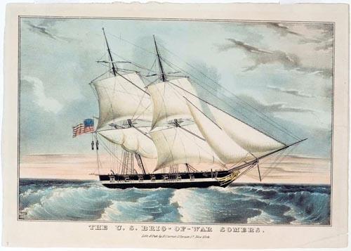 Image result for U.S. Navy Brig Somers