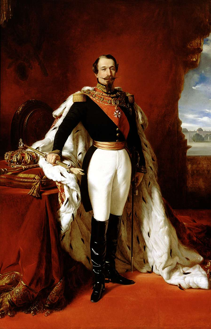 The Emperor Napoleon II in his pomp by Franz Xaver Winterhalter