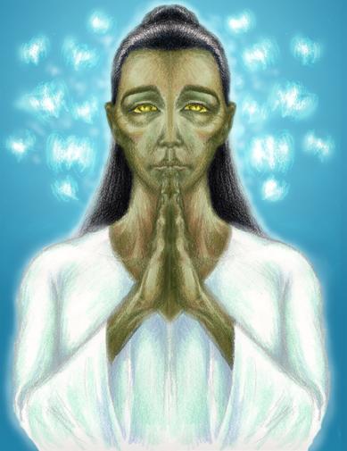 Goddess of Grief, by Mark Precious
