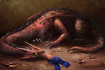 Dragon-Smoked BBQ by K. C. Garza