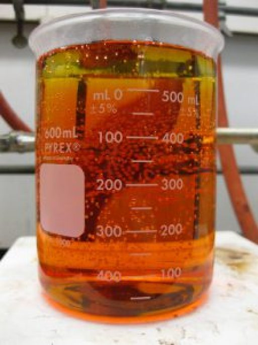 Aqua regia is so pretty. , but a very corossive acid
