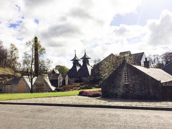 Škotsko višavje - škotski viski in mesto Aviemore