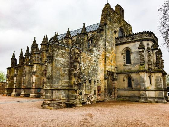 ROSSLYN CHAPEL - Edinburgh izlet