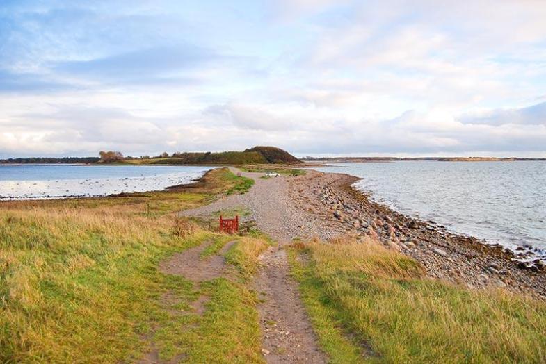 Danska in najstarejše mesto Ribe ter srečanje z Vikingi