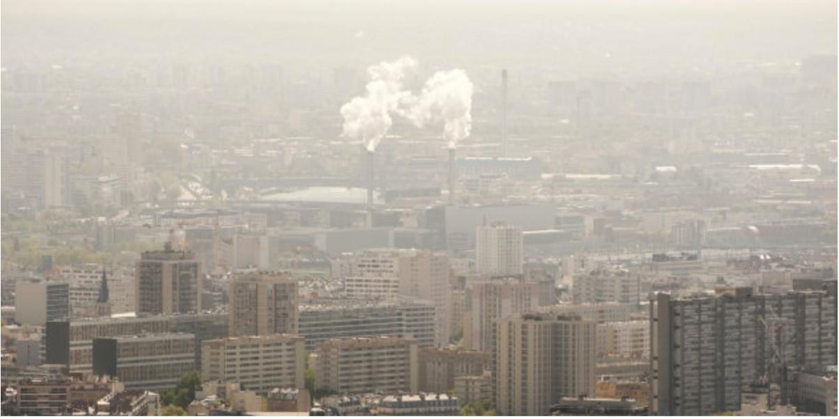 la ville polluée