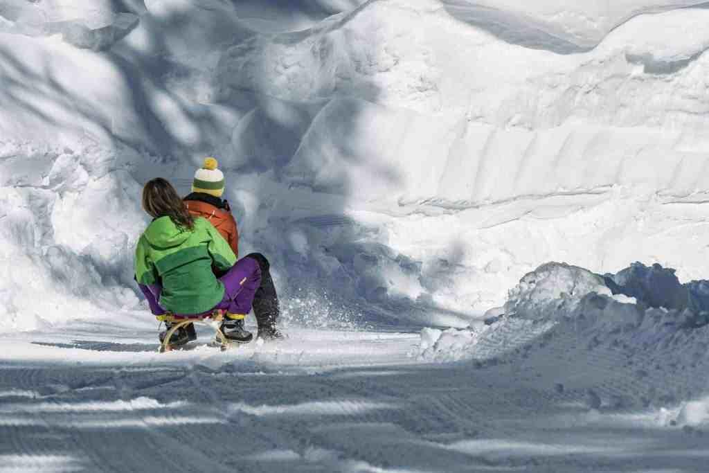 Rodeln Winter Osttirol Strasserwirt