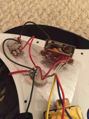 Yamaha Pacifica wiring | Fender Stratocaster Guitar Forum
