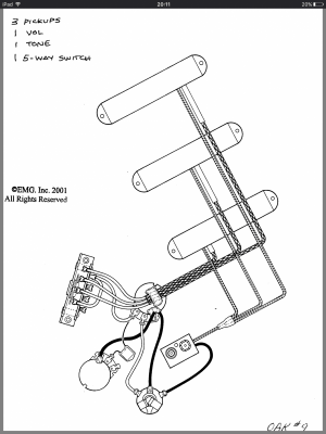 Old Emg Wiring Diagram