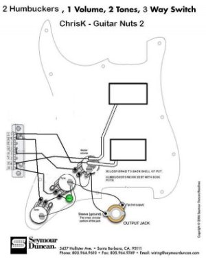 Wiring HH I'm doing something wrong | Fender