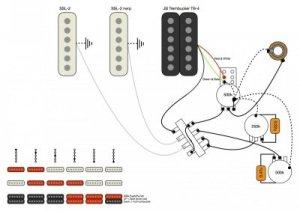 HSS with coil split wiring | Fender Stratocaster Guitar Forum