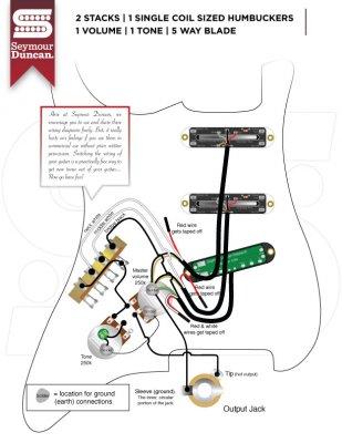 strat wiring diagram single volume single tone kill