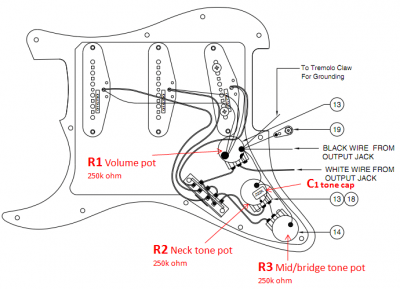 Fender Output Jack Wiring Diagram – Fender Strat Wiring Diagram