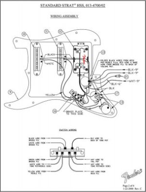 Strat Wiring Confusion | Fender Stratocaster Guitar Forum