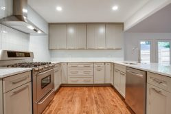 White Cabinets and Stainless Steel