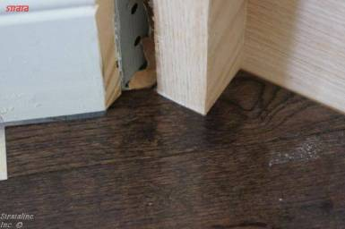Angled Staircase to hardwood perfect match
