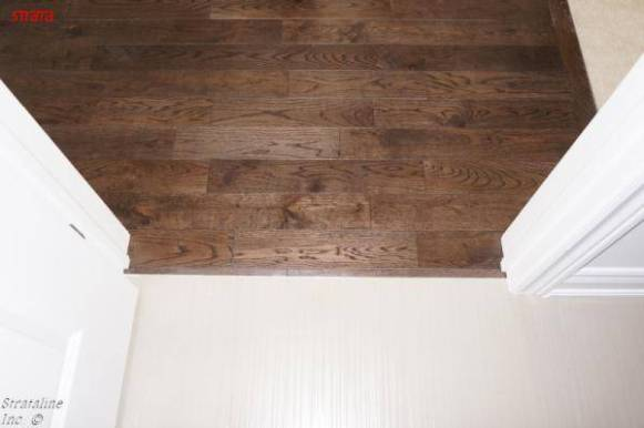 Hardwood to Tile