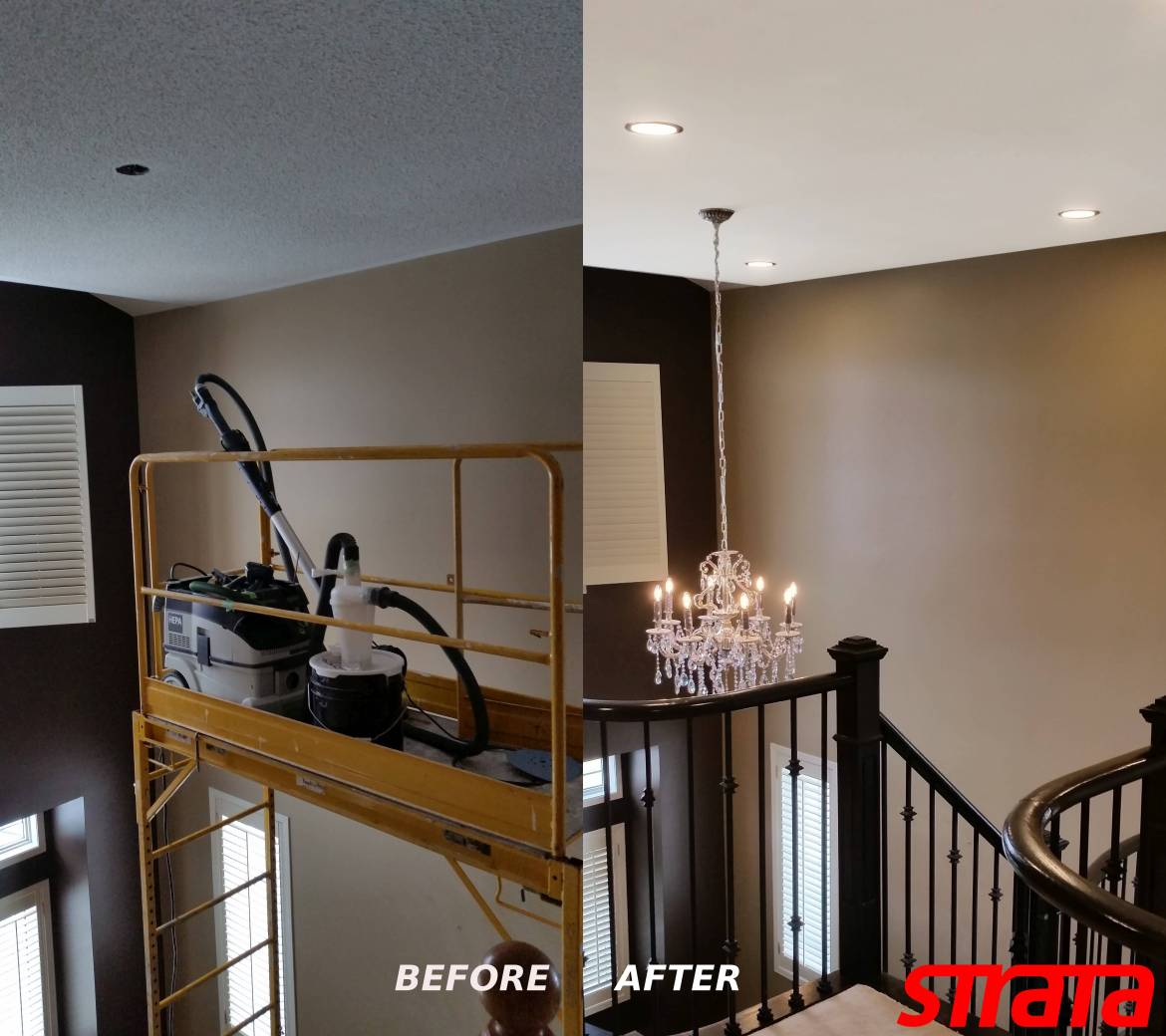 Smooth-Ceilings-Toronto-Removing-Popcorn-Textured-Ceilings-Dustless-Ceiling-Stucco-Popcorn-Texture-Removal-by-Strataline.ca-Toronto-Vaughan-Aurora-King-Nemwarket-Markham-Woodbrodge-Mississauga-Brampton-Etobicoke-Scarborough