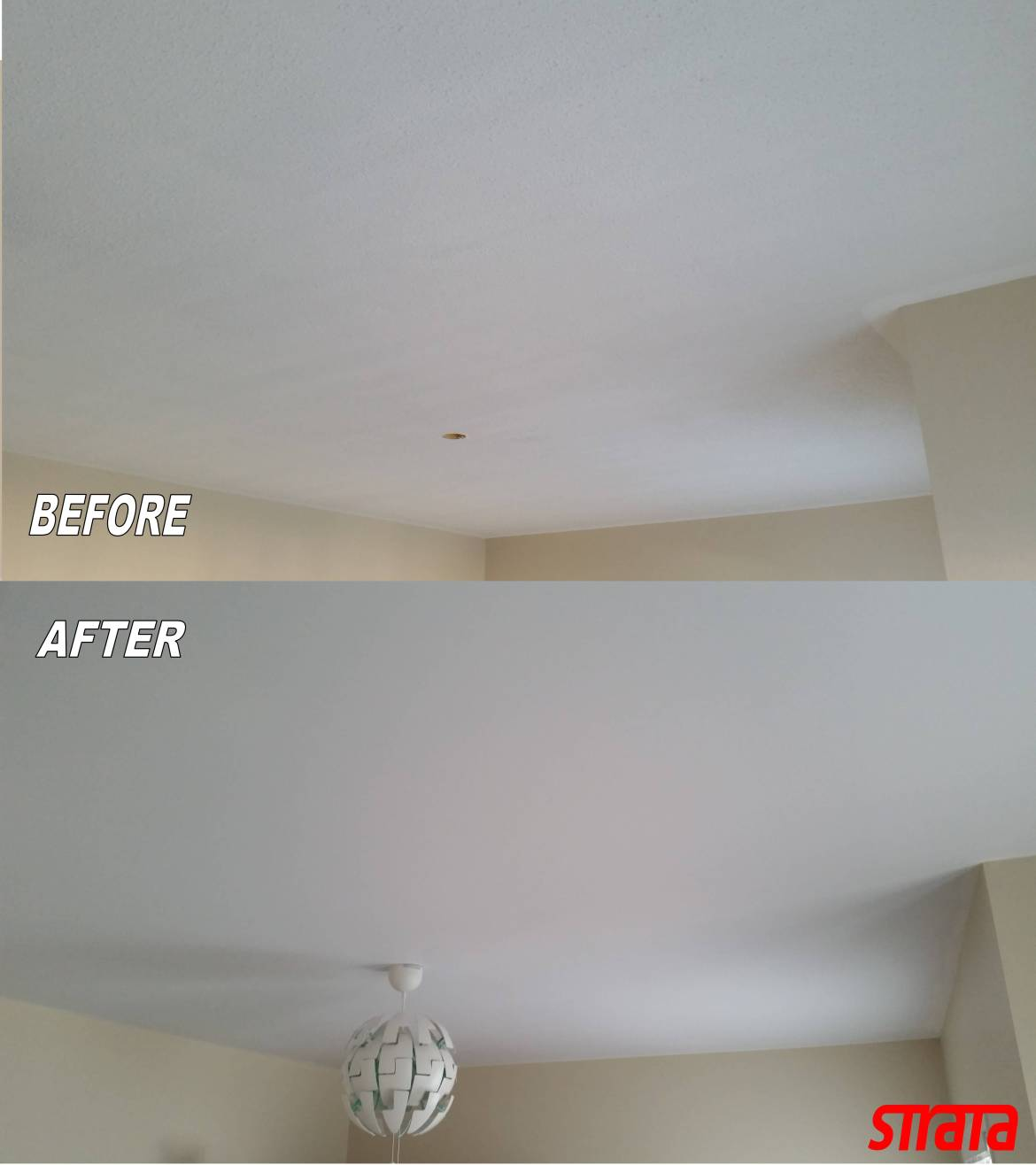 Smooth Ceiling: Remove Popcorn Texture