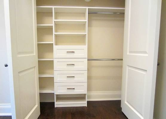 double door bedroom closet, bedroom closet, clothes and shoes Storage ideas, Toronto, Vaughan, GTA, Richmond Hill, Aurora, Newmarket