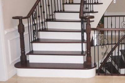 Left Step & Railing replaced
