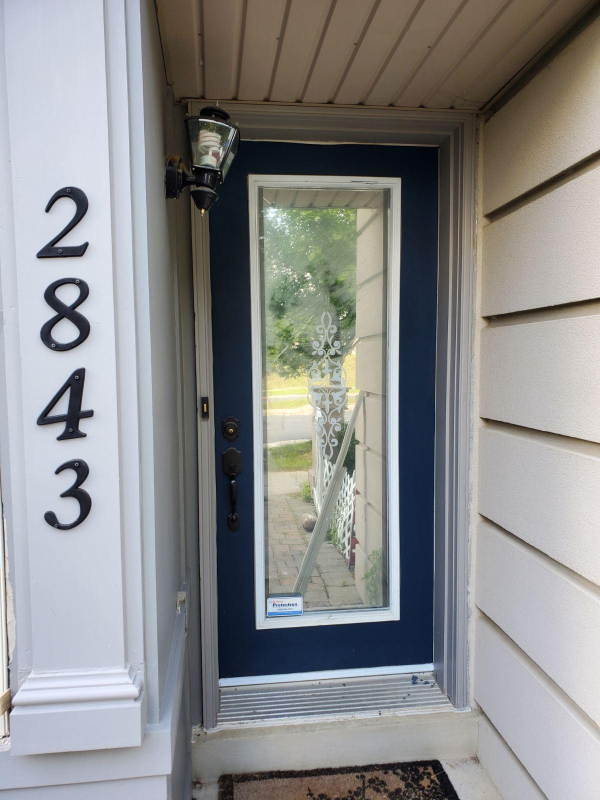 Blue Fiberglass and Steel Door Installation and Replacement, PVC Windows Woodbridge, Maple, Vaughan, King, Aurora, Nemwarket, Caledon, Nobleton, Kleinburg