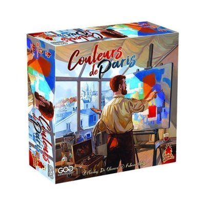 Couleurs de Paris - boardgame