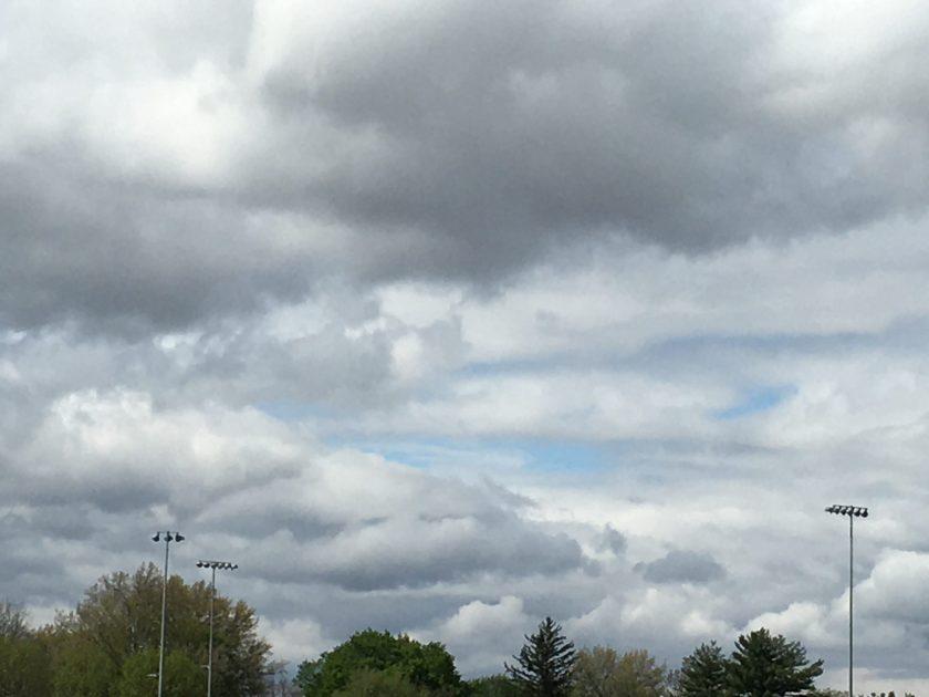 Spring clouds; May 2020; Iowa, USA